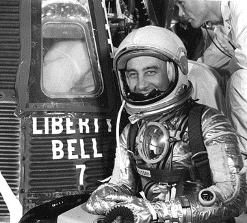 "PILOT OF THE MONTH: VIRGIL ""GUS"" GRISSOM"